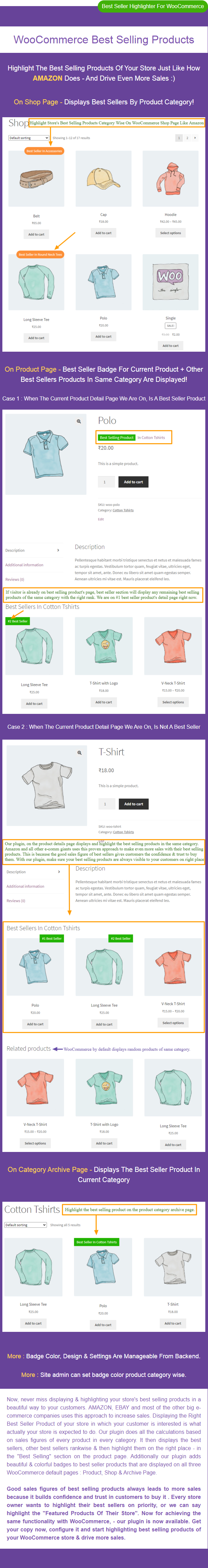 WooCommerce Best Selling Products - 1